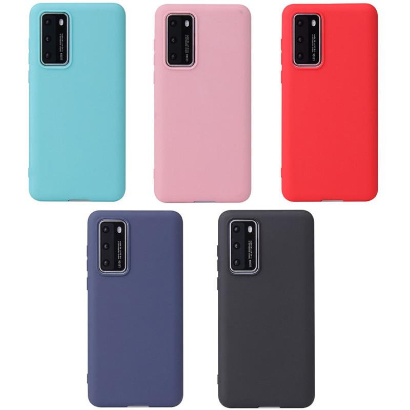 TPU чехол Candy для Huawei P40 Pro (Разные цвета)