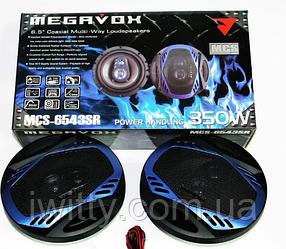 MEGAVOX MCS-6543SR 16см (350W) трехполосные, фото 2