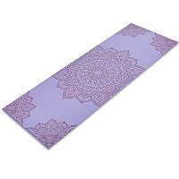 Коврик для йоги и фитнеса 6мм SP-Planeta фиолетовый FI-0185-3