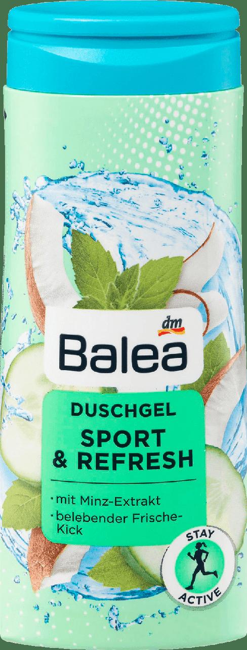 Увлажняющий гель для душа Balea Sport & Refresh, 300 мл.