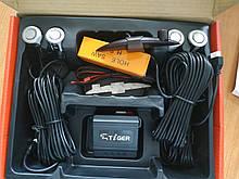 Парктроник TIGER PS-43 4 датчика d=18,8mm SLIM (Silver) Парковочная система Радар для авто