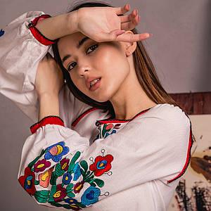 Уникальная украинская женская блуза Лелитка