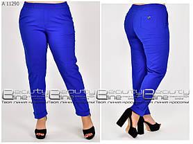 Летние женские брюки для полных женщин размер с 50 по 74
