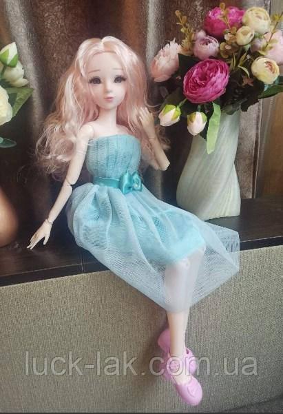 Шарнирная кукла BJD рост 60 см ,1 /3, одежда и обувь в подарок
