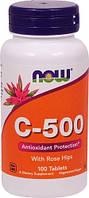 Витамин С 500 (с шиповником) 100таб.