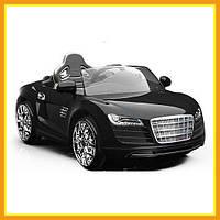 Детский Ездовой Электромобиль Audi R8 KD100 Городской Для мальчиков Черный (Видио Обзор)