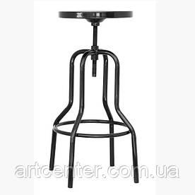 Высокий барный стул Танго, металл, цвет черный