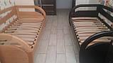 Деревянная кровать Бавария с ящиками, фото 9