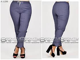 Летние женские брюки для полных женщин размер с 46 по 54