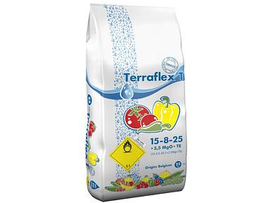 Удобрение Terraflex - T 15-8-25+3.5MgO+TE (Терафлекс для томатов, перца, баклажанов, картофеля) / 25 кг