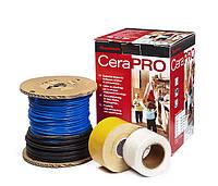 Тонкий нагревательный кабель CeraPro 160 Вт 14 м