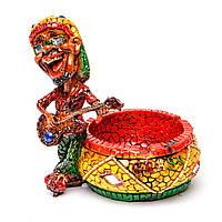 Пепельница сувенир с весёлыми музыкантами в ярких костюмах S68186
