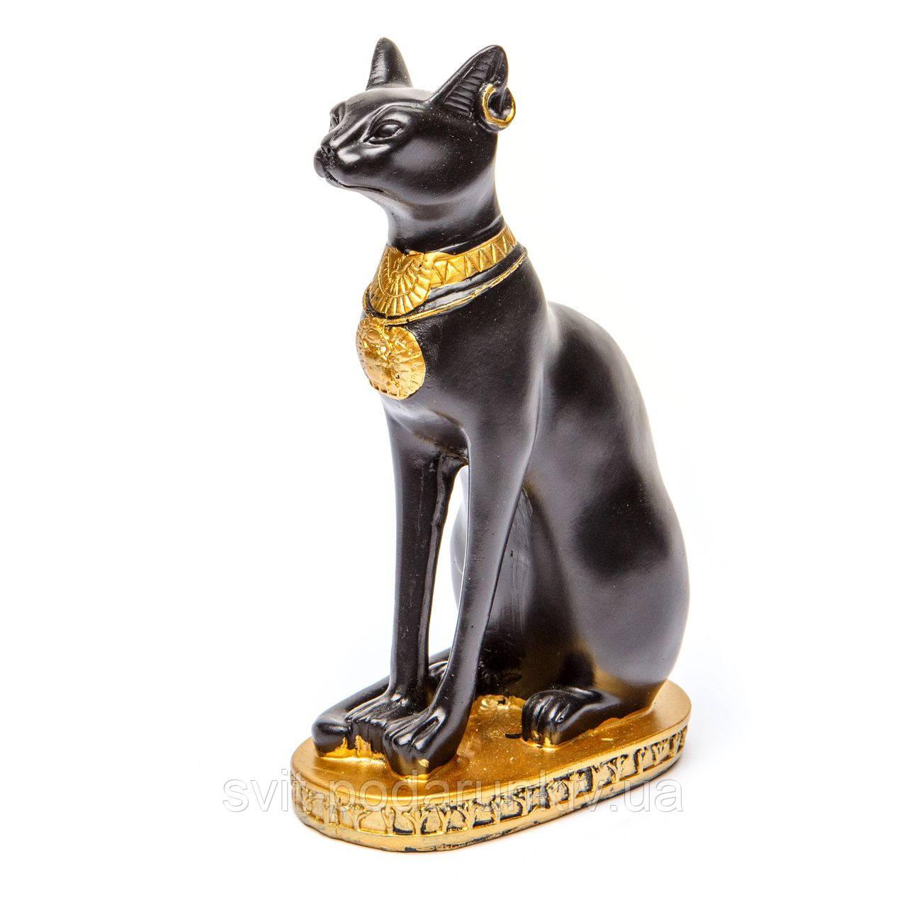 Сувенир кошка египетская чёрная S796 - 7,5A