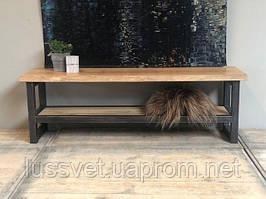 Стол-тумба под телевизор в стиле Loft