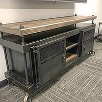 Тумба под телевизор в стиле Industrial
