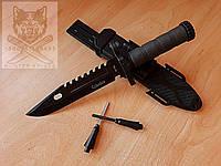 Нож с огнивом охотничий туристический тактический Columbia 2518А Ніж мисливський
