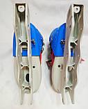 Розсувні роликові ковзани без коліс розмір 36-39 KEPAI, фото 4