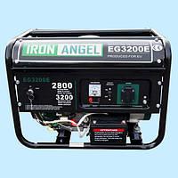 Генератор бензиновый IRON ANGEL EG 3200 E (2.8 кВт)