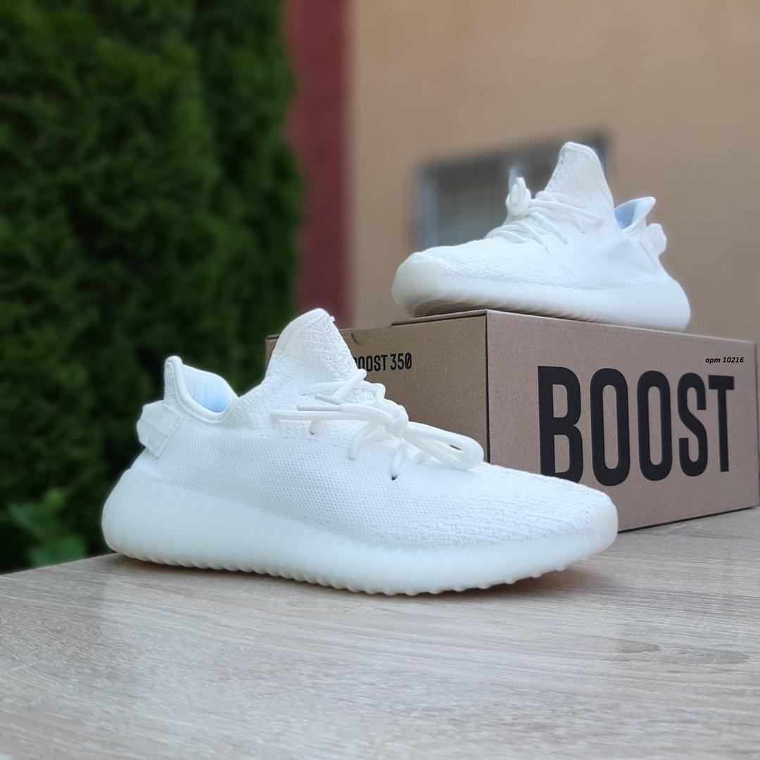 Мужские кроссовки Adidas Yeezy Boost 350 V2 (белый) - 10216