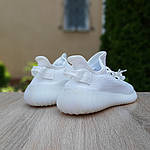 Чоловічі кросівки Adidas Yeezy Boost 350 V2 (білий) - 10216, фото 6