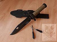 Нож с огнивом охотничий туристический тактический Columbia 2528В Ніж мисливський