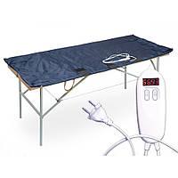 Термоодеяло двух-зонное для обертываний 147х170 см. TM Shine ЕКВ-2-1
