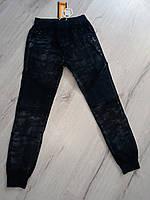 Черные брюки  джоггеры для мальчиков F&D 8-16 лет, фото 1