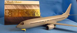 Фототравления для деталировки модели самолета Boeing 737 MAX. 1/144 METALLIC DETAILS MD14424