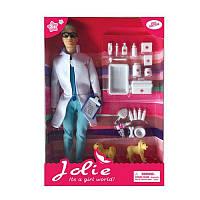 КуклаКен K369-12, 30см, доктор/ветеринар, собака 2шт, аксессуары