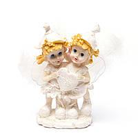"""""""Ангелочки"""" фигурка ангелов держащих сердечко в своих руках AS98"""