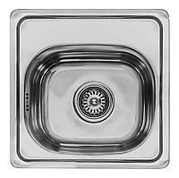 Кухонная мойка Lemax нерж. сталь хром LE-5013 CH + сифон (LE-5013 CH), фото 1