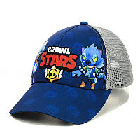 """Детская кепка с сеткой """"Brawl Stars"""""""