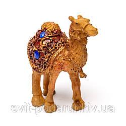 Статуэтка верблюд фигурка корабля пустыни S4049