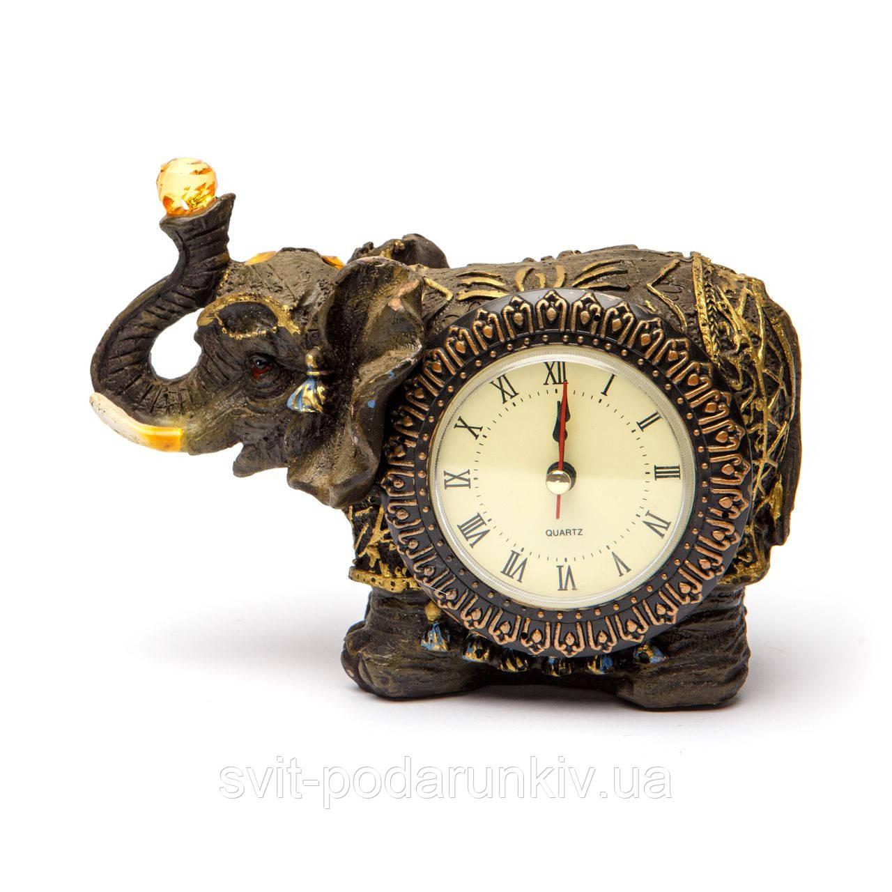 Настольные часы статуэтка слон S4116