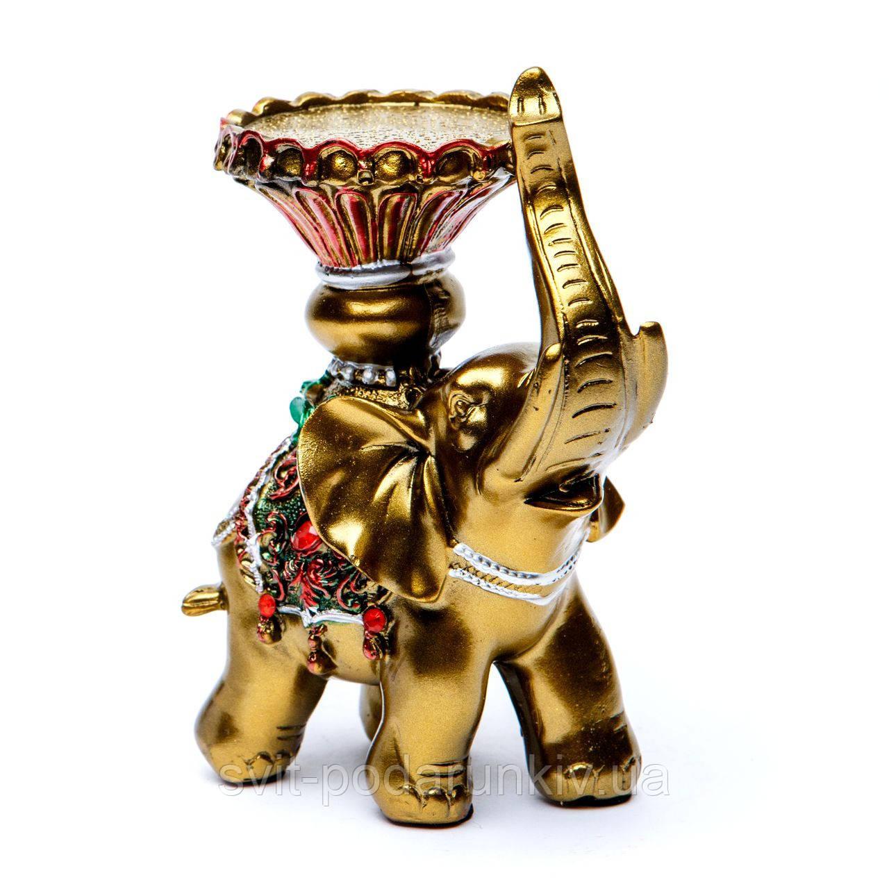 Подсвечник статуэтка слон S4519