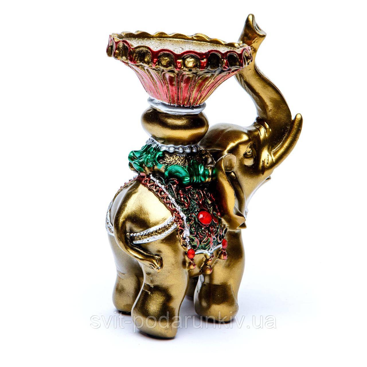 подсвечник слон