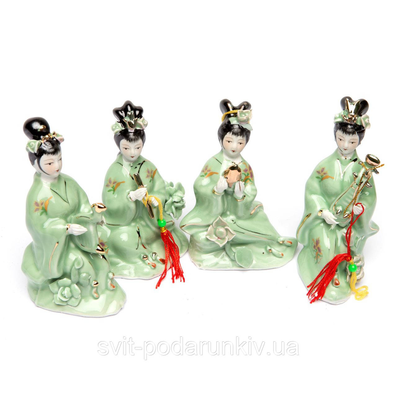 японские фарфоровые статуэтки