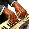 Статуэтка пианиста джазовый музыкант играет на клавишах S524, фото 5