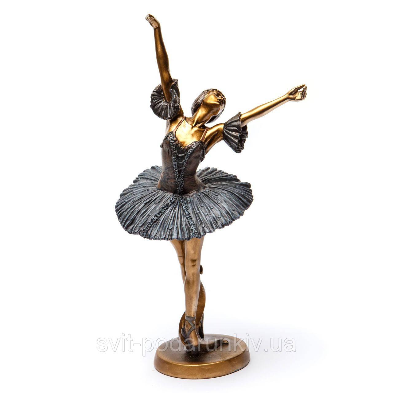 """Балерина статуэтка """"Трепещущий лебедь"""" из полирезины S632"""