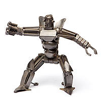 Робот полицейский фигурка из металла 4 модификации CMPD-1