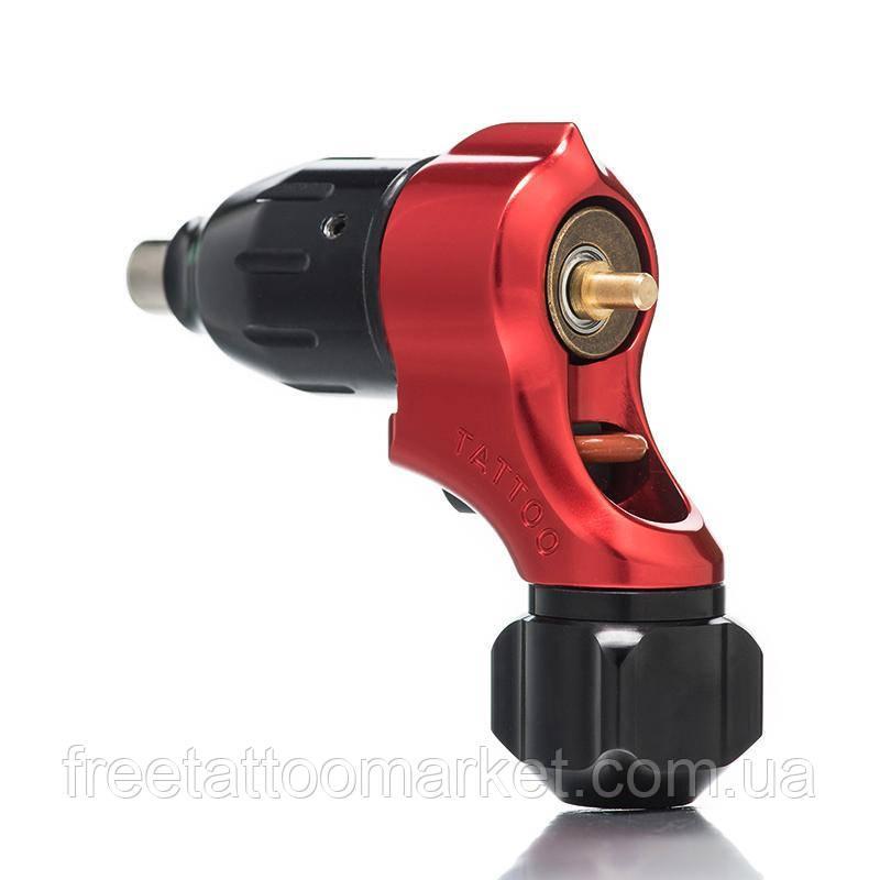 Тату машинка ротор-поворотник rotary tattoo machine (красная)