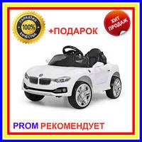 Детский электромобиль BMW M3 белый кабриолет EVA колеса