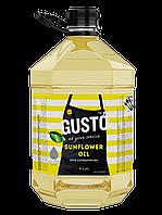 Подсолнечное масло GUSTO 5л ПЭТ