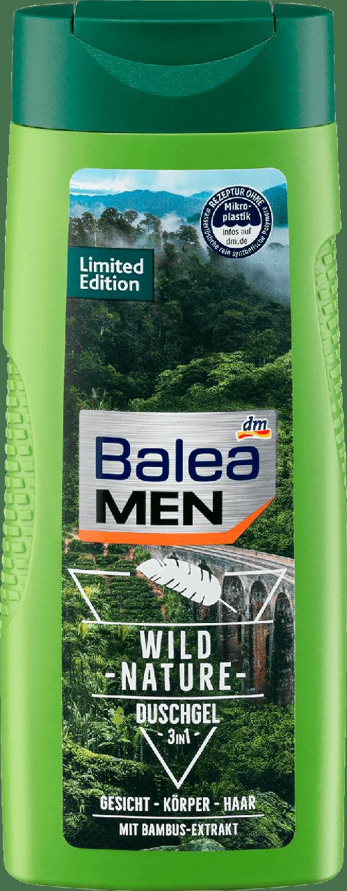 Гель для душа Balea Men Wild Nature, 300 ml