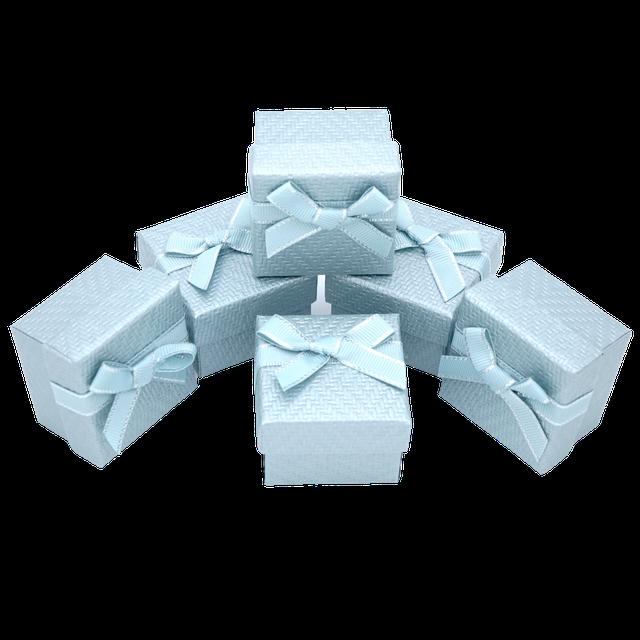 Картинка Бумажная коробка box1-3 Голубой