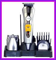 Машинка для стрижки волос и бороды 7 в 1 Kemei KM-580A триммер