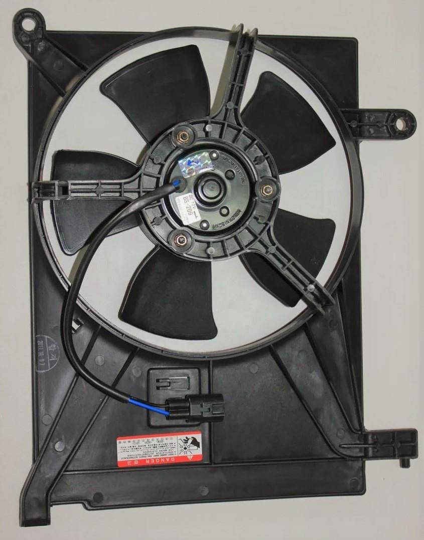 Вентилятор додатковий (кондиціонера) Ланос КАР/TOPIK Корея