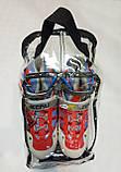 Розсувні роликові ковзани без коліс розмір 36-39 KEPAI, фото 3