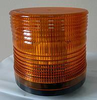 Мигалка 12В светодиодная желтого цвета стробоскопная