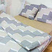 Комплект постельного белья полуторный 1.5 спальный сатин, фото 1